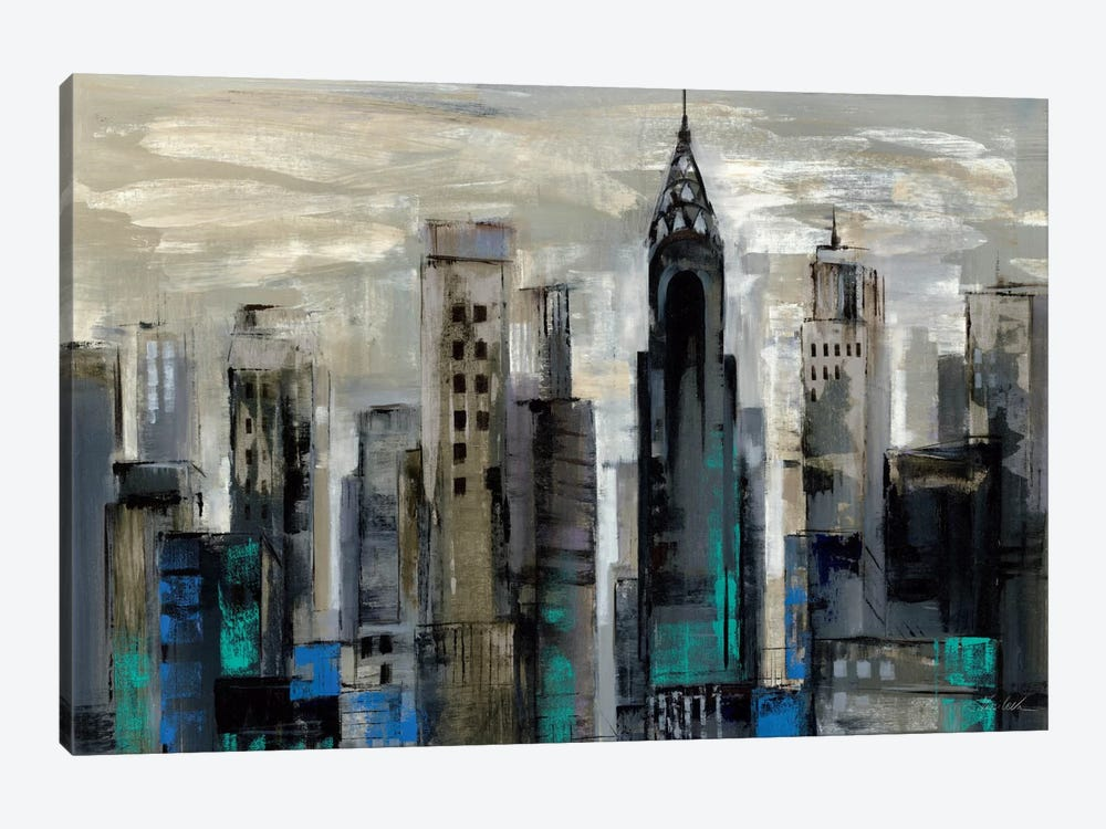 New York Moment  by Silvia Vassileva 1-piece Canvas Artwork