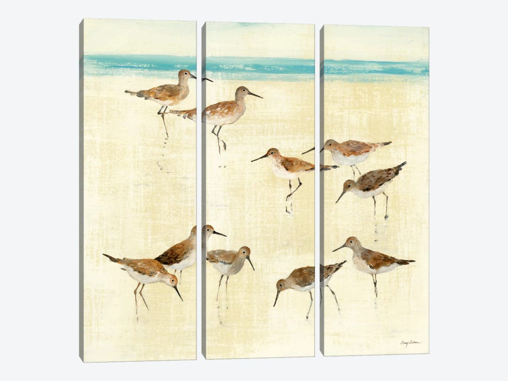 Sandpipers by Avery Tillmon 3-piece Art Print