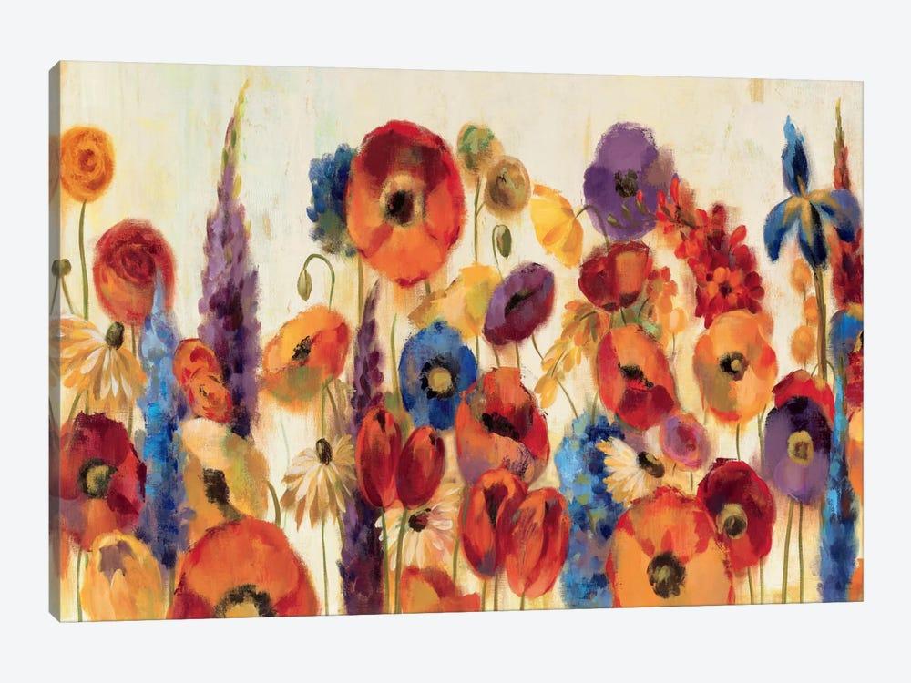 Joyful Garden by Silvia Vassileva 1-piece Canvas Artwork