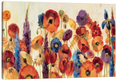 Joyful Garden Canvas Art Print