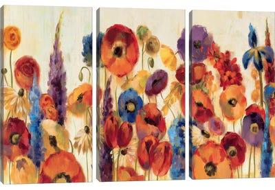 Joyful Garden Canvas Art Print