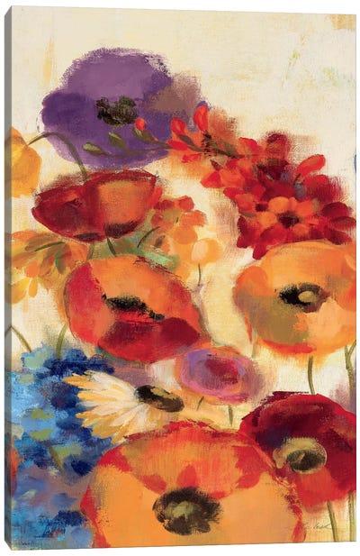 Joyful Garden Panel III Canvas Print #WAC1324