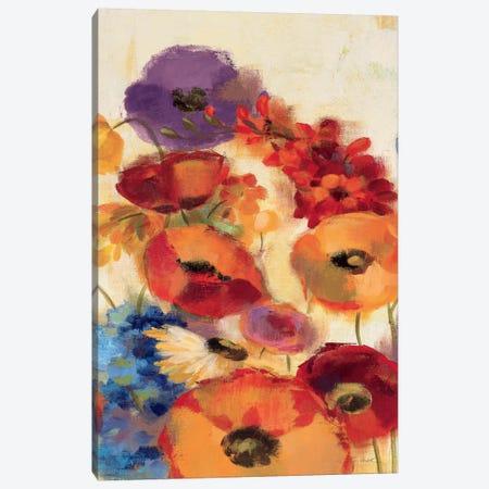 Joyful Garden Panel III Canvas Print #WAC1324} by Silvia Vassileva Art Print