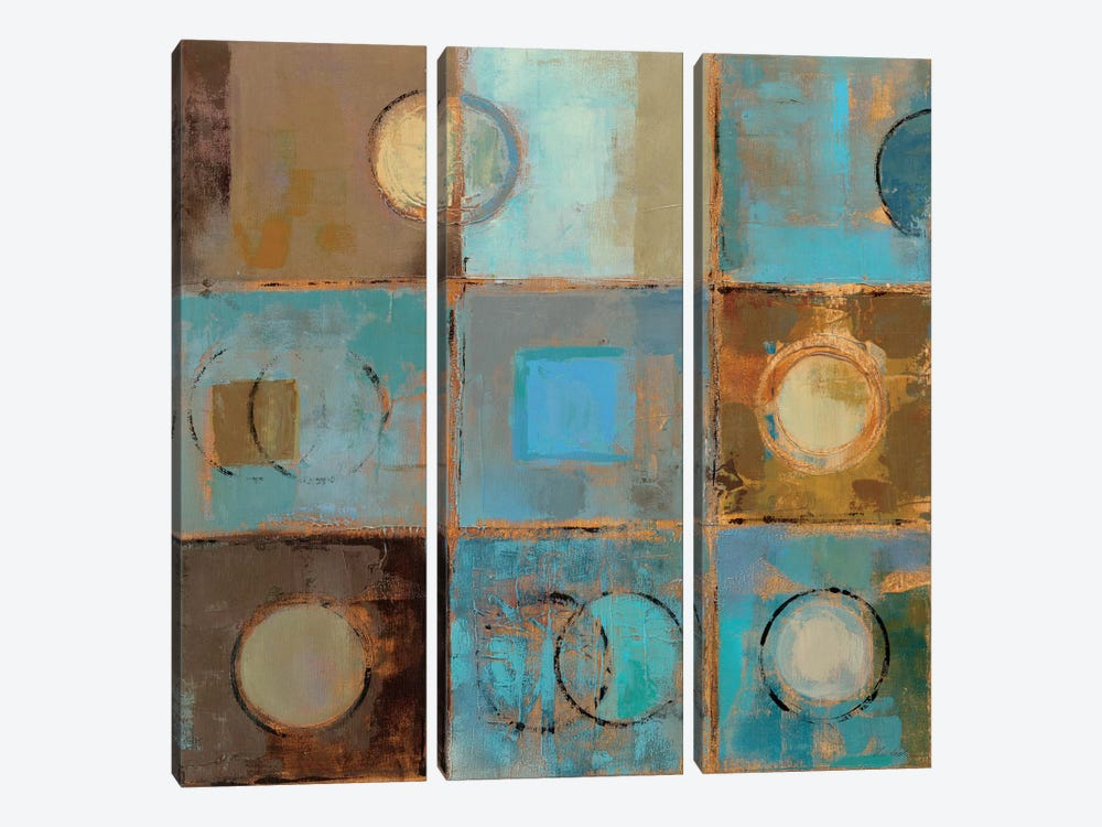 Pass Way II by Silvia Vassileva 3-piece Canvas Print