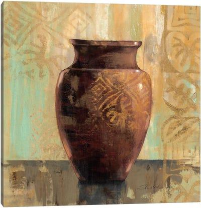 Glazed Pot II Decorative Accents  Canvas Print #WAC1344