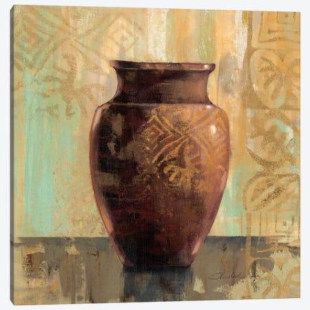 Glazed Pot II Decorative Accents  Canvas Print #WAC1344} by Silvia Vassileva Canvas Art Print