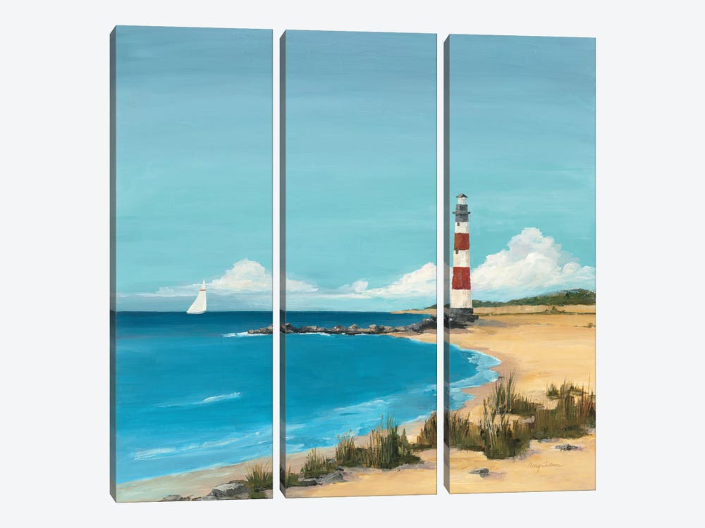 Sandy Point by Avery Tillmon 3-piece Canvas Wall Art