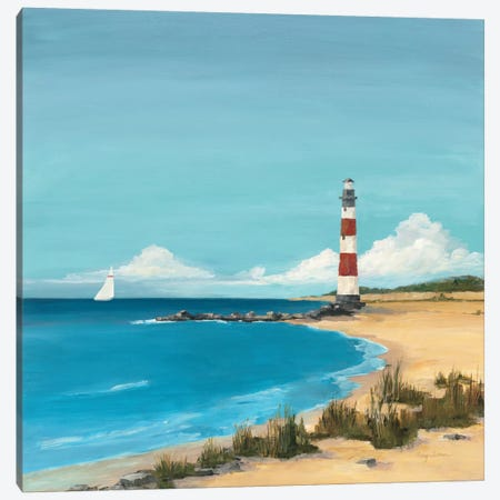 Sandy Point  Canvas Print #WAC134} by Avery Tillmon Art Print