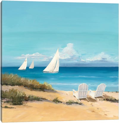 Setting Sail  Canvas Art Print