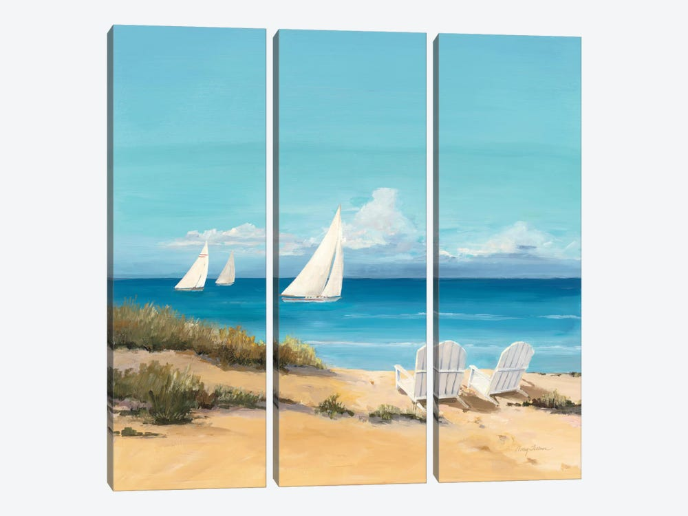 Setting Sail by Avery Tillmon 3-piece Canvas Art Print