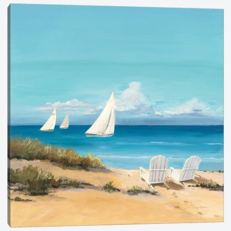Setting Sail  Canvas Print #WAC135} by Avery Tillmon Art Print
