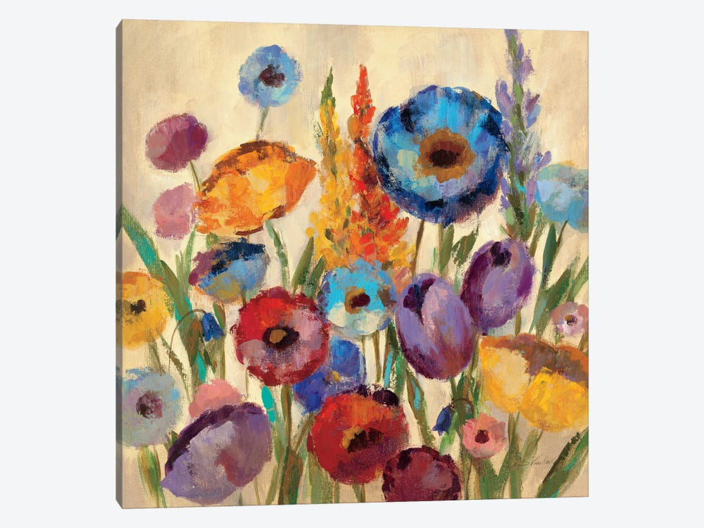 Garden Hues II by Silvia Vassileva 1-piece Canvas Art Print