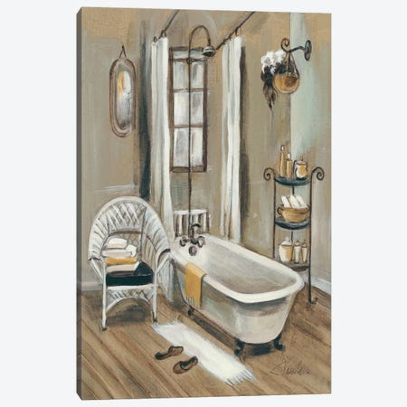 French Bath II Canvas Print #WAC1368} by Silvia Vassileva Canvas Artwork