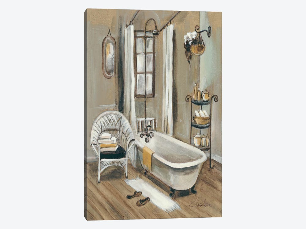 French Bath II by Silvia Vassileva 1-piece Canvas Wall Art