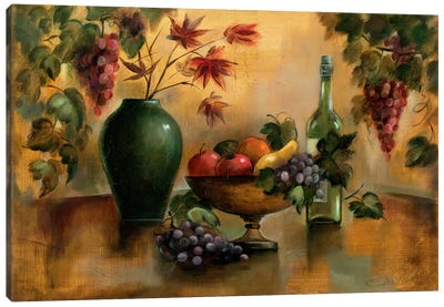 Autumn Hues Canvas Art Print