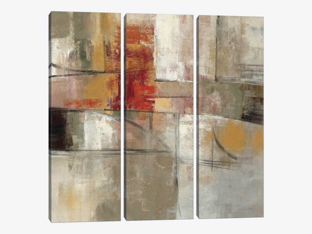 Trajectory  by Silvia Vassileva 3-piece Canvas Artwork