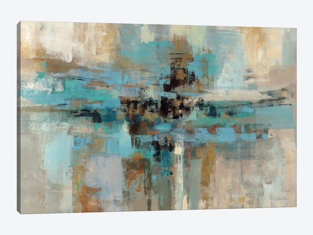 Morning Fjord  by Silvia Vassileva 1-piece Canvas Print