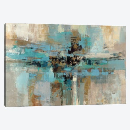 Morning Fjord  Canvas Print #WAC1383} by Silvia Vassileva Canvas Wall Art