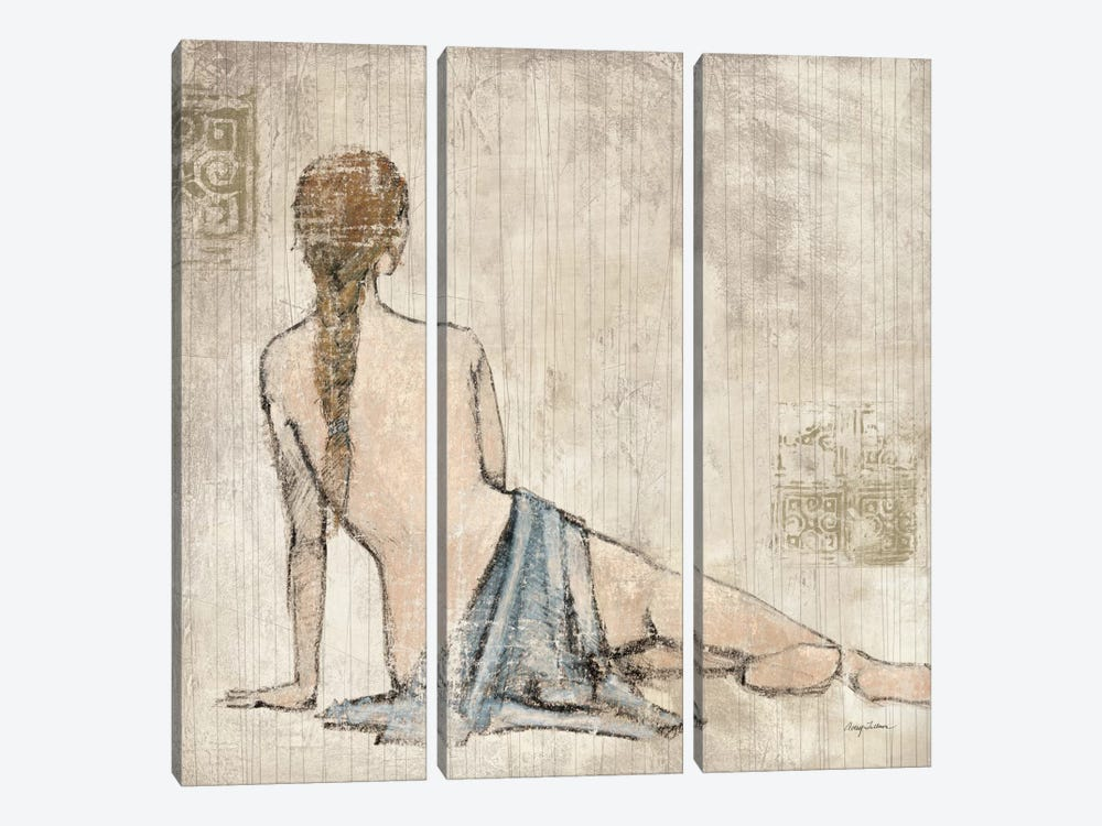 Figure Study II by Avery Tillmon 3-piece Canvas Wall Art