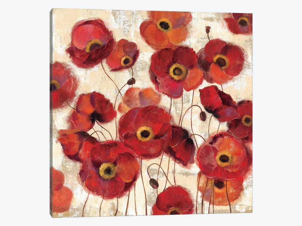 Bold Poppies by Silvia Vassileva 1-piece Art Print