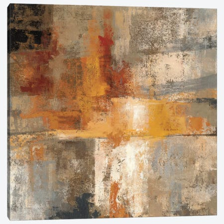 Silver and Amber Crop  Canvas Print #WAC1393} by Silvia Vassileva Canvas Art Print