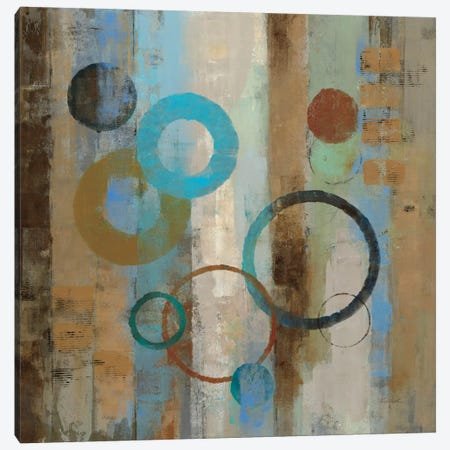 Bubble Graffiti I  Canvas Print #WAC1394} by Silvia Vassileva Canvas Wall Art