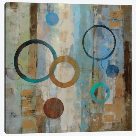 Bubble Graffiti II  Canvas Print #WAC1395} by Silvia Vassileva Canvas Wall Art