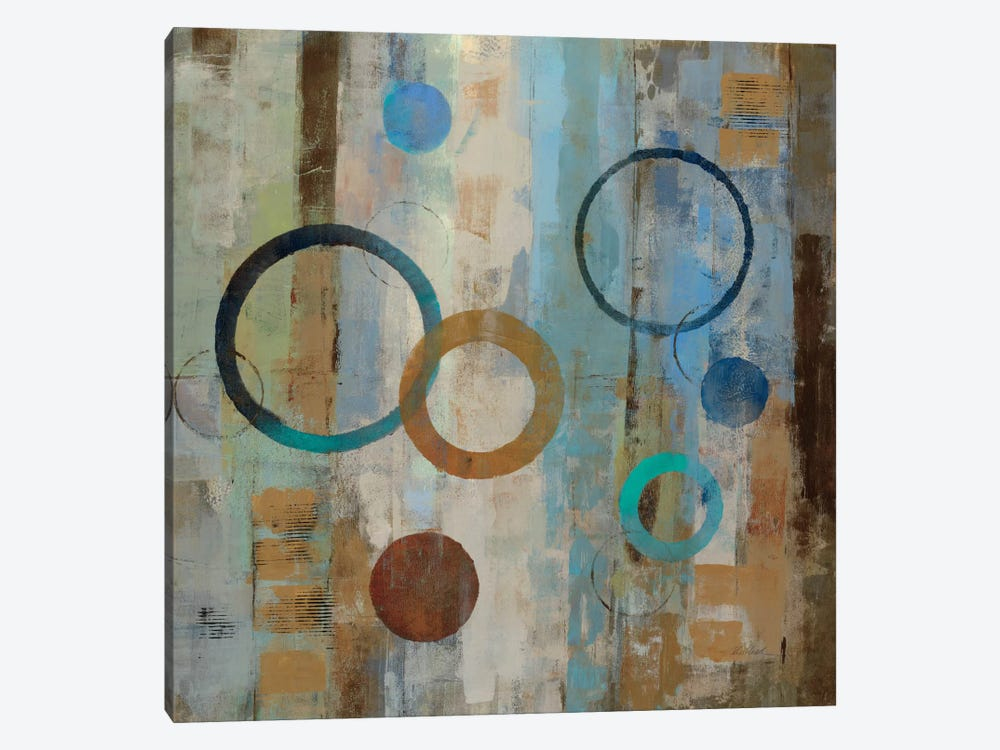Bubble Graffiti II  by Silvia Vassileva 1-piece Canvas Art