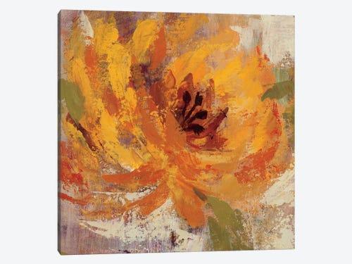 Fiery Dahlias I Canvas Wall Art By Silvia Vassileva Icanvas