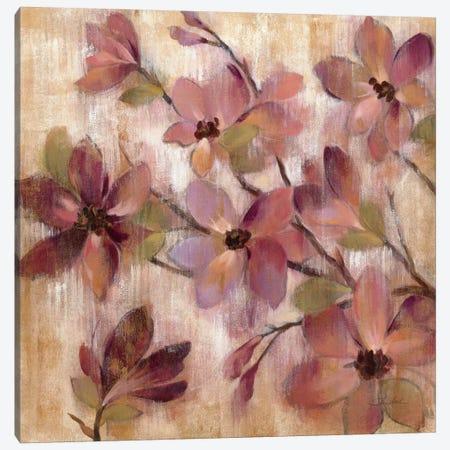 Magenta Branch I  Canvas Print #WAC1398} by Silvia Vassileva Canvas Art Print