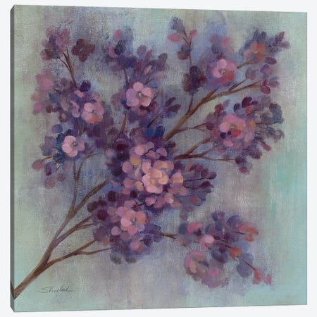 Twilight Cherry Blossoms I  Canvas Print #WAC1409} by Silvia Vassileva Art Print
