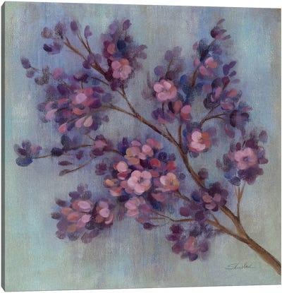 Twilight Cherry Blossoms II  Canvas Print #WAC1410