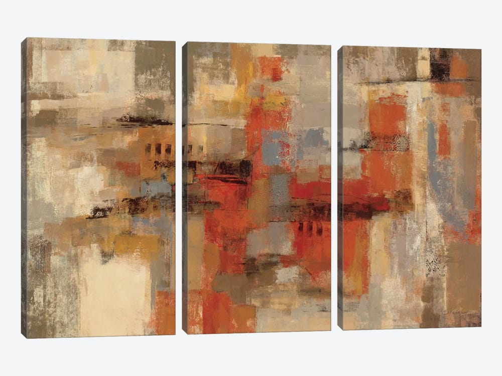 City Wall by Silvia Vassileva 3-piece Canvas Wall Art
