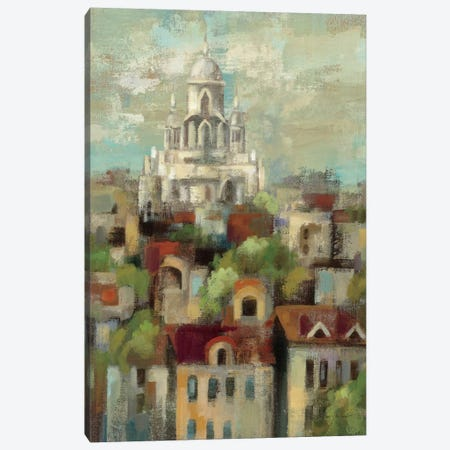 Spring in Paris I  Canvas Print #WAC1421} by Silvia Vassileva Art Print