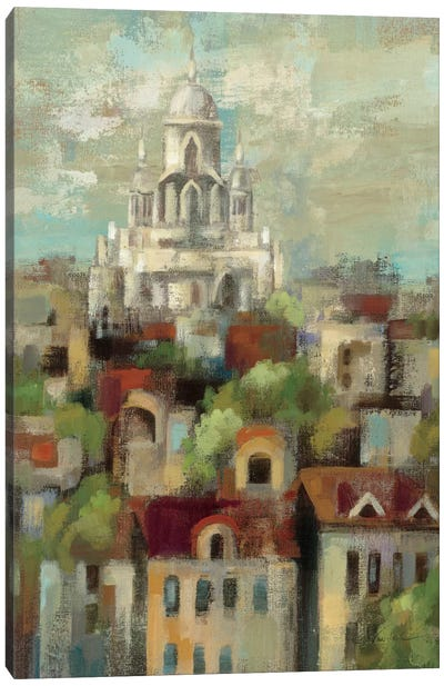 Spring in Paris I  Canvas Art Print