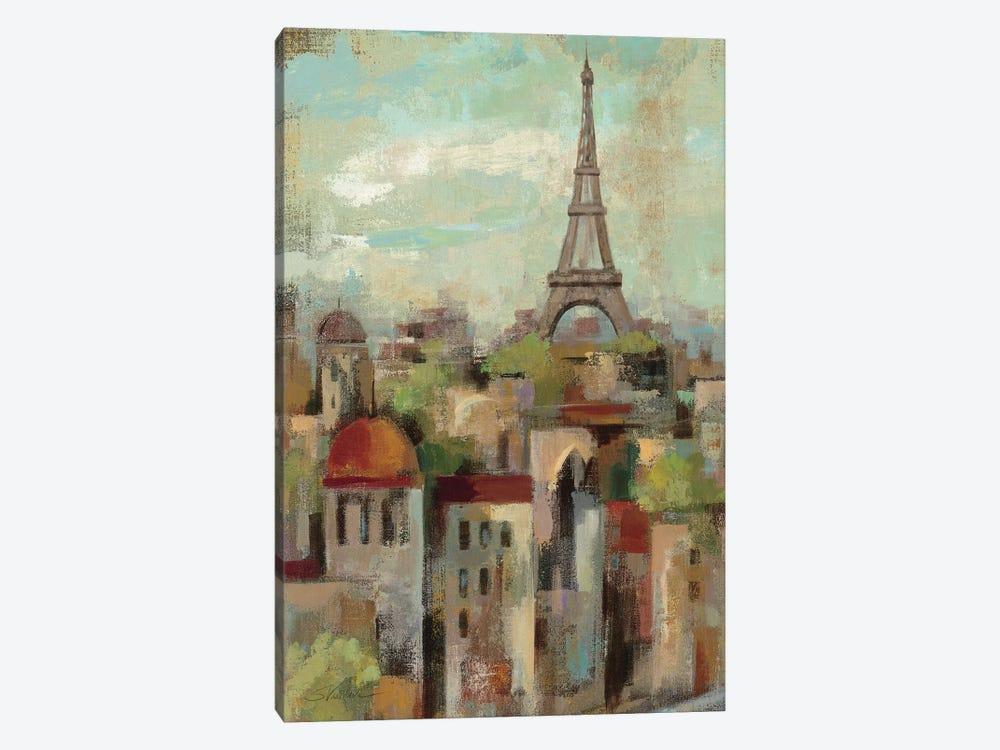 Spring in Paris II  by Silvia Vassileva 1-piece Canvas Art Print