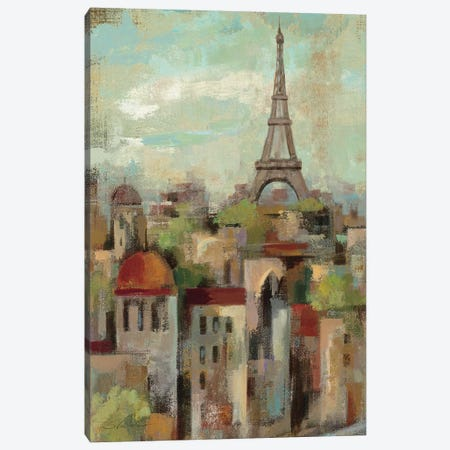 Spring in Paris II  Canvas Print #WAC1422} by Silvia Vassileva Canvas Print