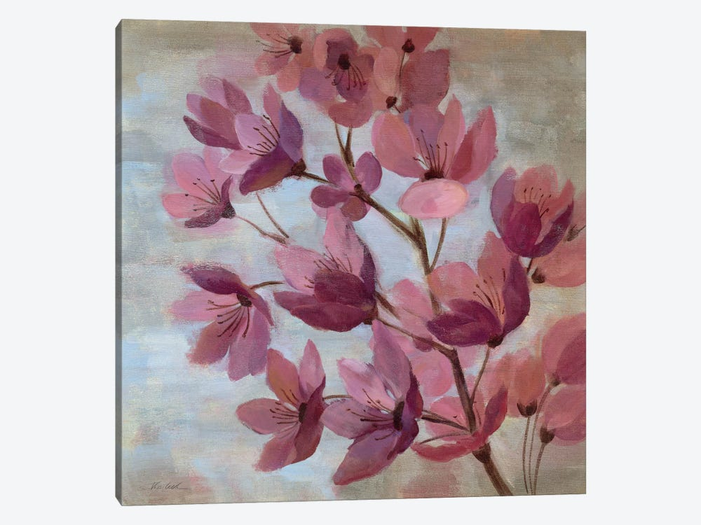 April Blooms I by Silvia Vassileva 1-piece Canvas Artwork