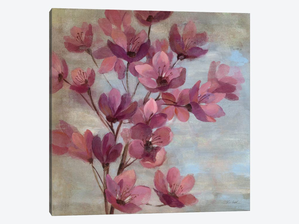April Blooms II  by Silvia Vassileva 1-piece Canvas Print