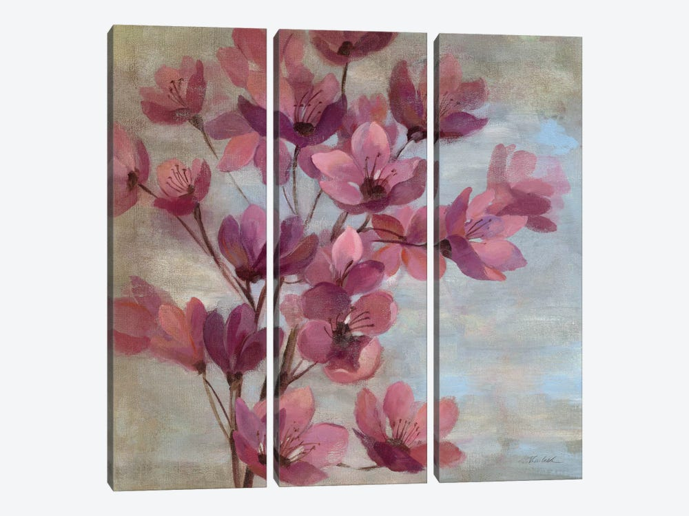 April Blooms II  by Silvia Vassileva 3-piece Art Print