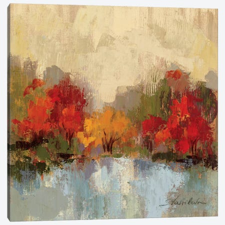 Fall Riverside I  Canvas Print #WAC1428} by Silvia Vassileva Canvas Print