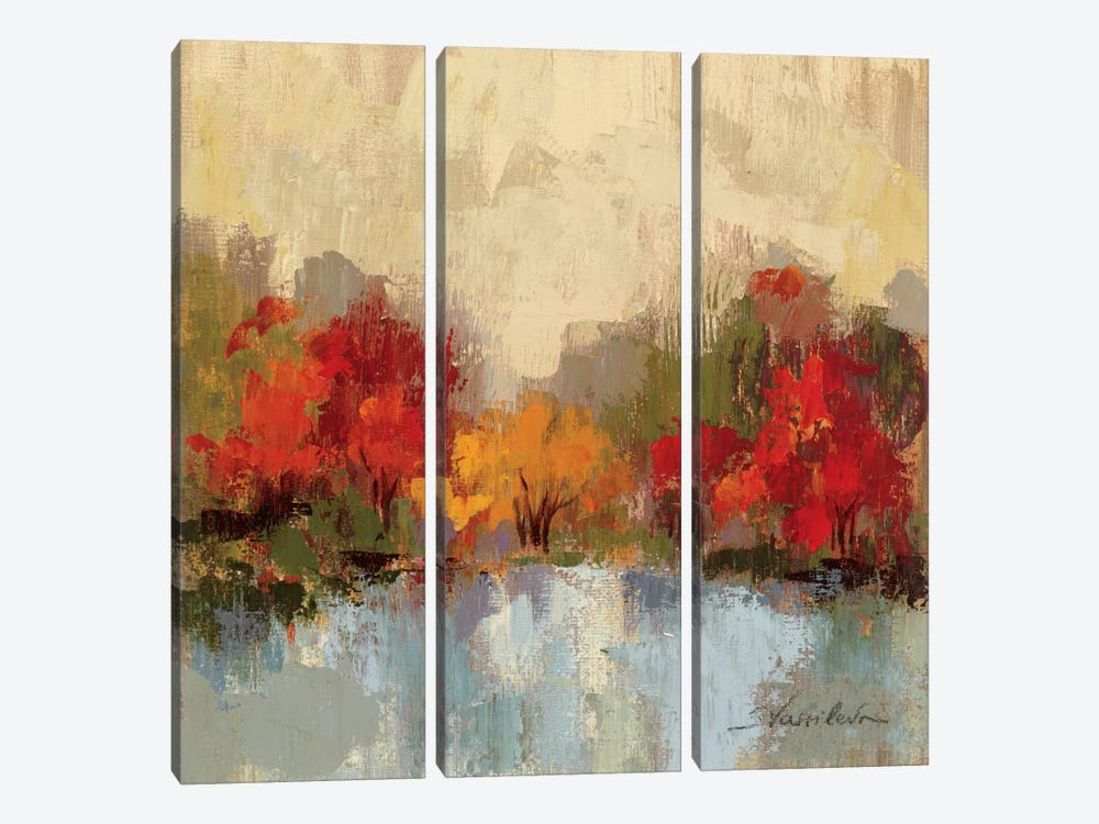 Fall Riverside I by Silvia Vassileva 3-piece Art Print