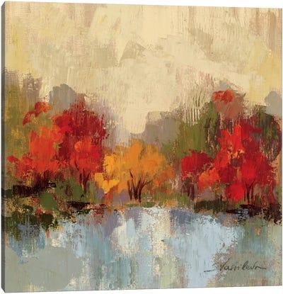 Fall Riverside I  Canvas Art Print