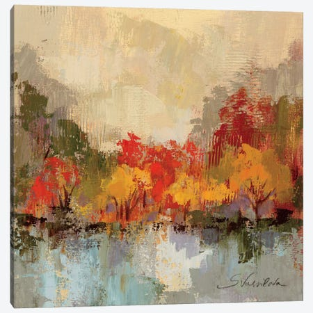 Fall Riverside II  Canvas Print #WAC1429} by Silvia Vassileva Art Print