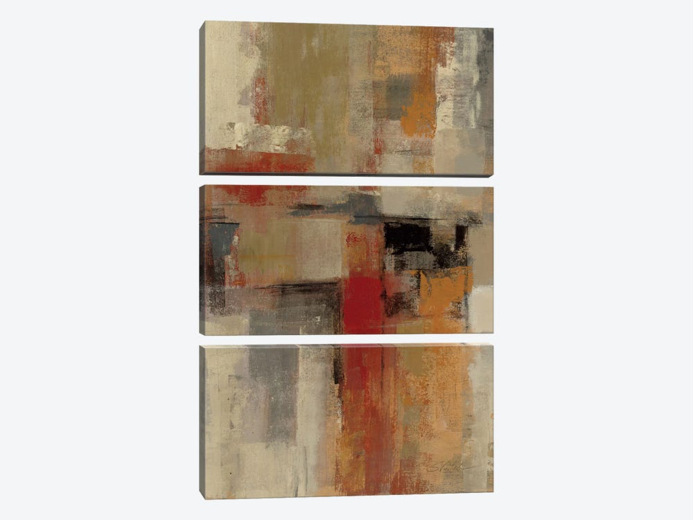 Intersection Crop I  by Silvia Vassileva 3-piece Canvas Wall Art