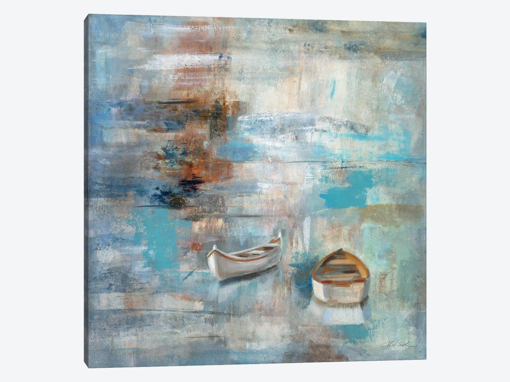 Calm Sea by Silvia Vassileva 1-piece Canvas Artwork