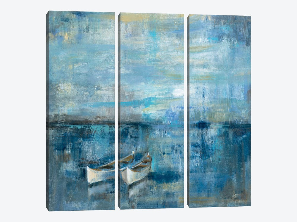 Two Boats  3-piece Art Print
