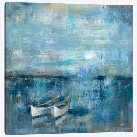 Two Boats  Canvas Print #WAC1433} by Silvia Vassileva Canvas Wall Art