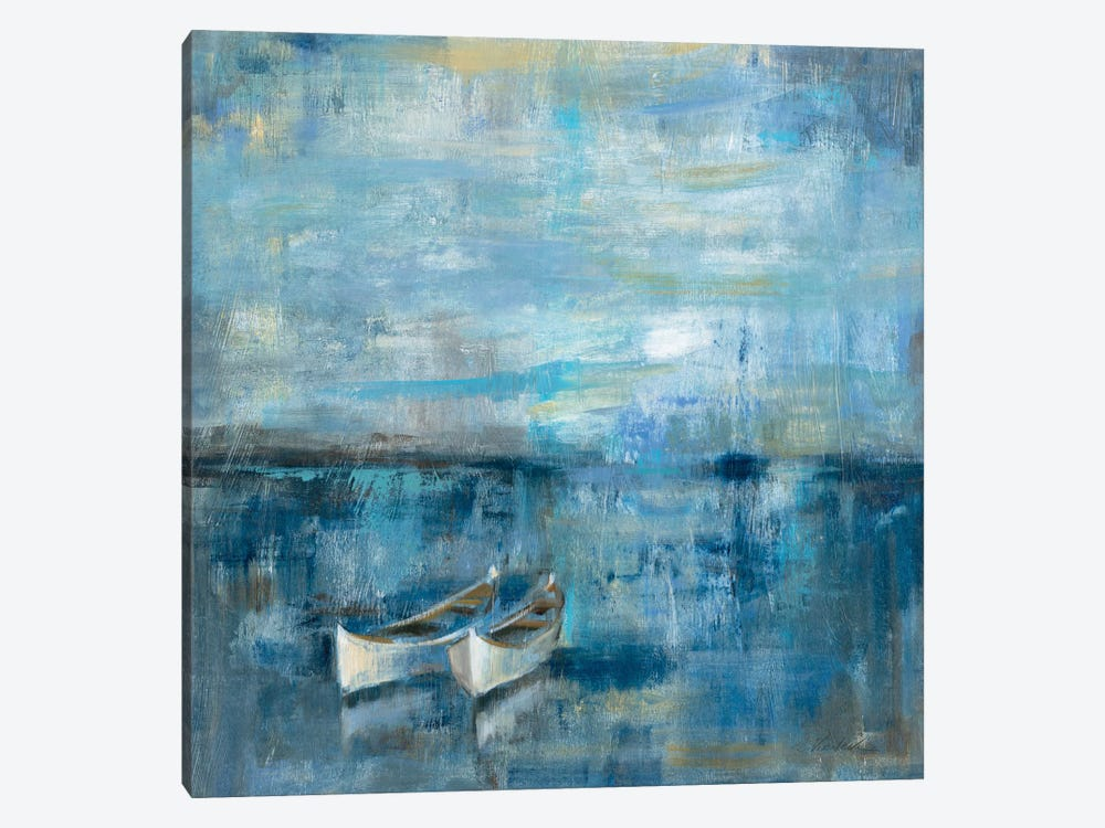 Two Boats  by Silvia Vassileva 1-piece Canvas Print
