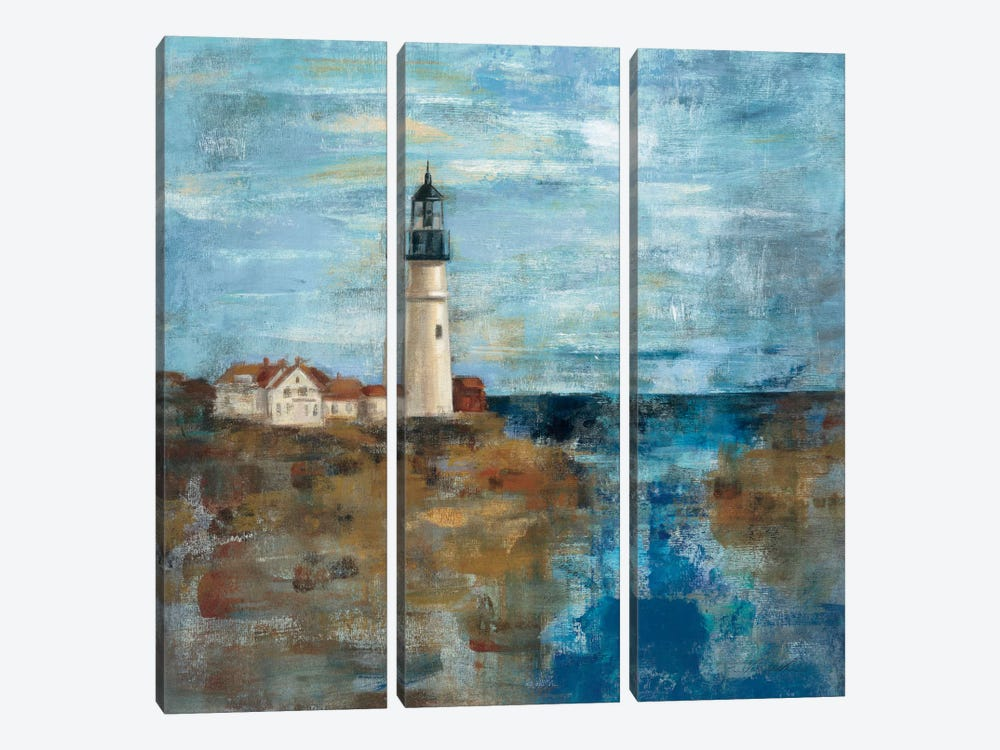 Lighthouse Dream  by Silvia Vassileva 3-piece Canvas Art